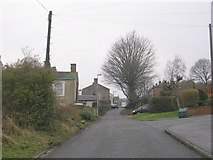 SE2333 : Hough Side Lane - Hough Side Road by Betty Longbottom