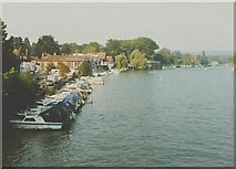 SU7682 : The Thames at Henley in 1986 by John Baker