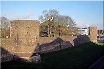 TR1457 : Canterbury City Walls by Oast House Archive