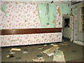 TM3897 : Hales Hospital - vandals have been here by Evelyn Simak