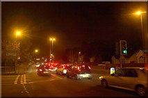 SX9065 : Evening traffic on Newton Road by Derek Harper