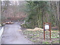 NT2470 : Entrance to the Hermitage of Braid by M J Richardson