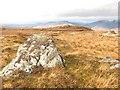 NG8618 : Summit, Beinn a' Chaoinich by Richard Webb
