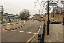 TQ3581 : Junction in Stepney by Derek Harper