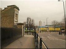 TQ3681 : East end of Victory Bridge by Derek Harper