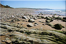SM8422 : Newgale Sands by Roger Gittins