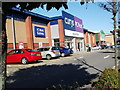 SP3675 : Currys and Dunelm, Airport Retail Park by John Brightley
