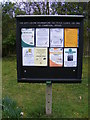 TM2445 : Martlesham Village Notice Board by Adrian Cable