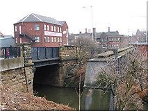 SK4293 : Rotherham - Bridge Street Bridge over Don Navigation by Dave Bevis