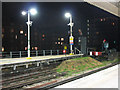 TQ2475 : Terminal platform at Putney Bridge station by Stephen Craven
