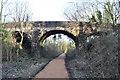 SK5264 : Old accommodation bridge by Ashley Dace