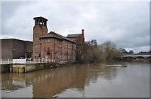 SK3536 : Derby Silk Mill by Ashley Dace
