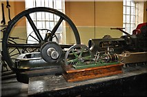 SK3536 : Abell Steam Engine by Ashley Dace