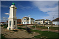 TQ4000 : Greenwich Meridian monument Peacehaven by steve ridley
