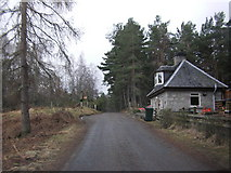 NH9817 : Gate House, Abernethy Forest by Peter Bond