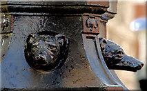J3474 : Former Ulster Bank lamp standards, Belfast (1) by Albert Bridge
