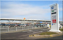TL5523 : Fast Track Car Park - Stansted by Sandy B