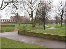 TQ2976 : Larkhall Park by Derek Harper