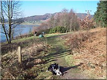 SK2085 : The Derwent Valley Heritage Way near Ladybower by Jonathan Clitheroe