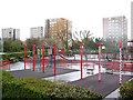 TQ4177 : Hornfair Park: children's playground by Stephen Craven