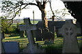 SK2607 : All Saints Church, Graveyard  (5) by Chris' Buet