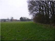 TM3763 : Footpath to Grove Farm & the B1119 Rendham Road by Adrian Cable