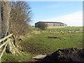 NZ2421 : Farm barn next to Walworth Road by peter robinson