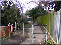 TM3863 : Path to Deben Road by Geographer