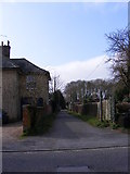 TM3863 : Harpers Lane footpath to Henley Close by Geographer