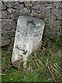 NR3463 : Milestone near Scarrabus turn off, Islay by Becky Williamson