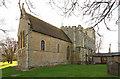 TL3746 : Holy Trinity, Meldreth by John Salmon