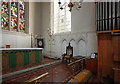 TL3344 : St Peter & St Paul, Bassingbourn - Sanctuary by John Salmon