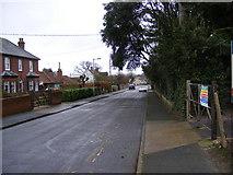TM3863 : Fairfield Road, Saxmundham by Geographer