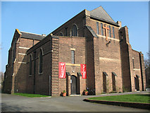 TQ3871 : West front of St John's church by Stephen Craven
