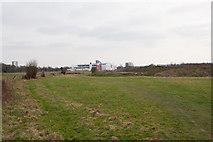 SU3715 : Field in Adanac Park by Peter Facey