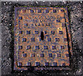 D4002 : Gregg & Sons access cover, Larne by Albert Bridge