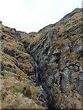 NN2119 : The burn draining Coire Dubh by Richard Law
