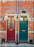 TQ4210 : Doors on South Street by Oast House Archive