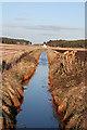 NJ1265 : Drainage Ditch by Anne Burgess