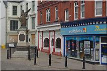 SJ0566 : Crown Square, Denbigh by Stephen McKay