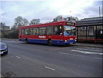 TQ2883 : 274 bus outside London Zoo, Prince Albert Road by David Howard