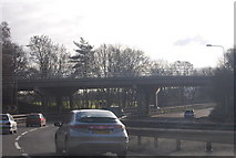 SU9164 : A322 / A30 road junction by N Chadwick