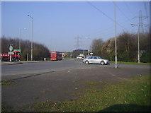 TQ0485 : A40 Denham roundabout by David Howard