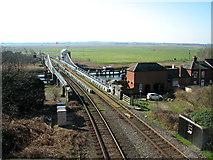 TG4201 : Reedham swing bridge by Evelyn Simak