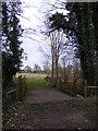 TM3969 : Bridge on footpath to Martins Farm by Adrian Cable