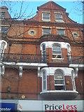 TQ3265 : Upper storeys of Victorian shop buildings, Croydon High Street by Christopher Hilton