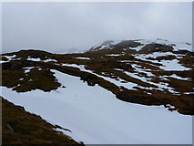 NN2119 : Southwards across Coire Dubh by Richard Law