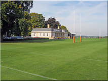 SP6737 : Rugby pitches at Stowe School by Trevor Rickard