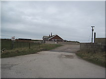 SD2063 : South End Bungalow, Walney Island by Les Hull
