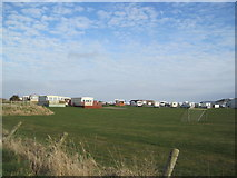 SD2063 : South End Caravan Park, Walney Island by Les Hull